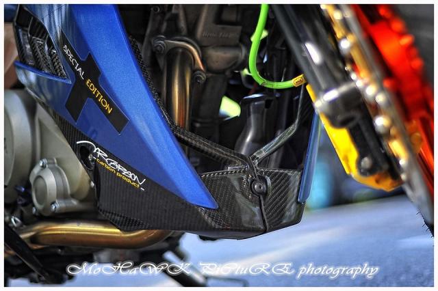 Exciter 150 do 2 cap mam CNC cua biker den tu Malaysia - 4