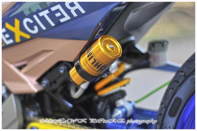 Exciter 150 do 2 cap mam CNC cua biker den tu Malaysia - 10