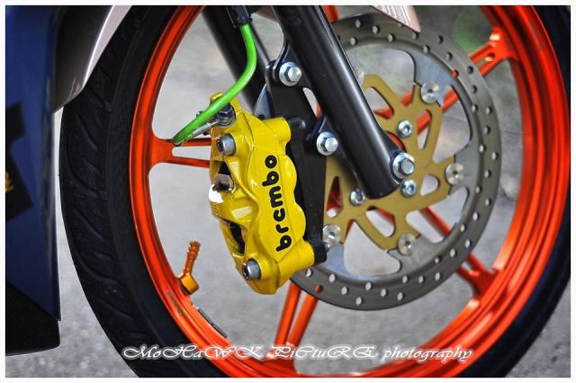 Exciter 150 do 2 cap mam CNC cua biker den tu Malaysia - 12