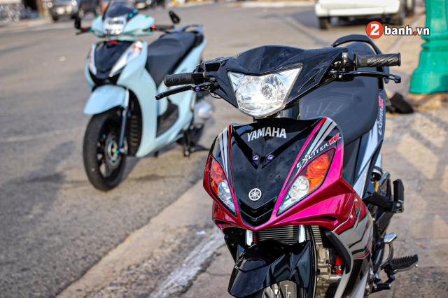 Exciter 2010 do chu bao hong so huu doi chan than toc cua biker Vung Tau - 5
