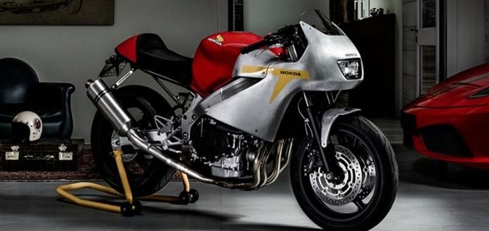 Honda CBR600F4i do theo phong cach xe dua co dien Honda RC 164 - 3