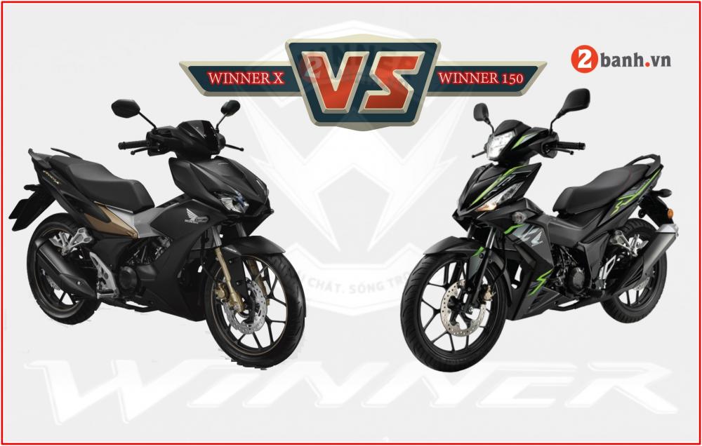 Honda Winner X co gi khac biet so voi Winner 150 the he cu