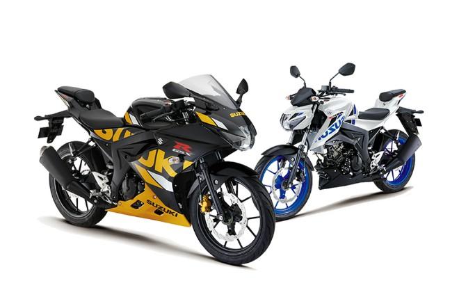 Suzuki GSXS150 va GSXR150 ABS 2019 voi dien mao moi dam chat the thao
