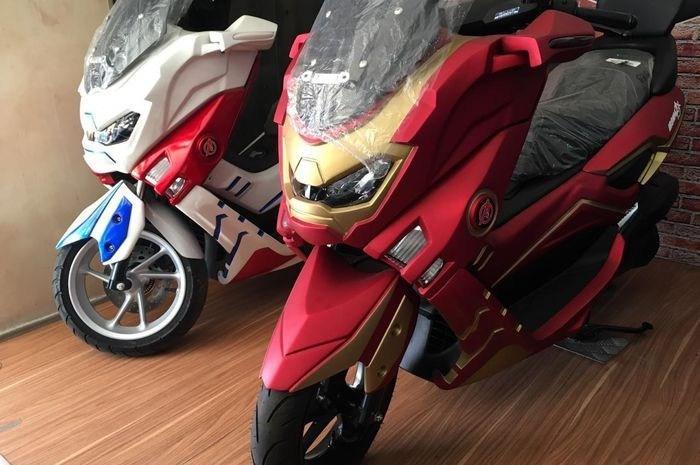 Yamaha NMAX Iron Man phien ban doc dao vua moi trinh lang