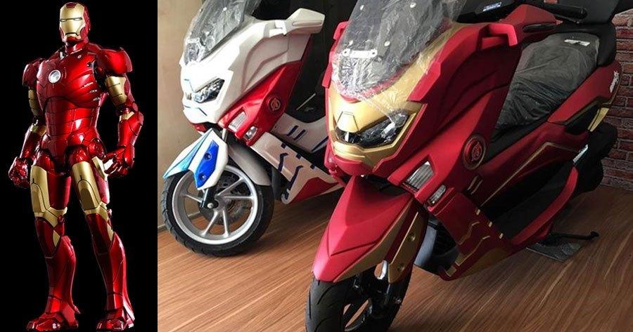 Yamaha NMAX Iron Man phien ban doc dao vua moi trinh lang - 5