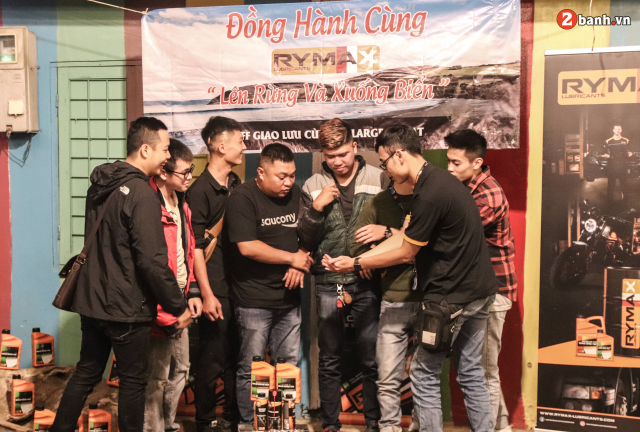 20 Rider chay PKNPKL dong hanh cung Rymax len rung xuong bien - 25