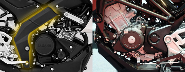 So sanh Yamaha MT15 Honda CB150R nua can thi luon nhe hon 8 lang - 8