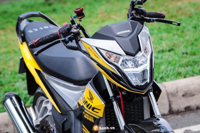Sonic 150 do tuyet dinh voi option do choi hang nang cua biker Sai Gon