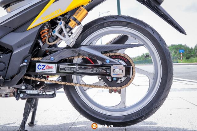 Sonic 150 do tuyet dinh voi option do choi hang nang cua biker Sai Gon - 13