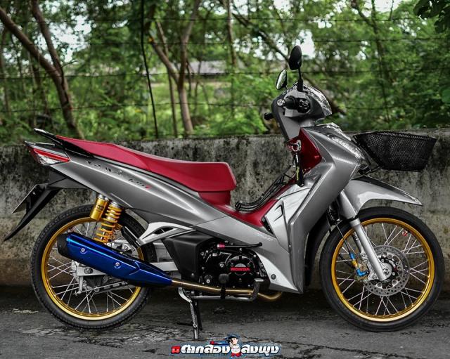 Wave 125 2019 ban do mang dap chat choi cua biker ThaiLand - 12