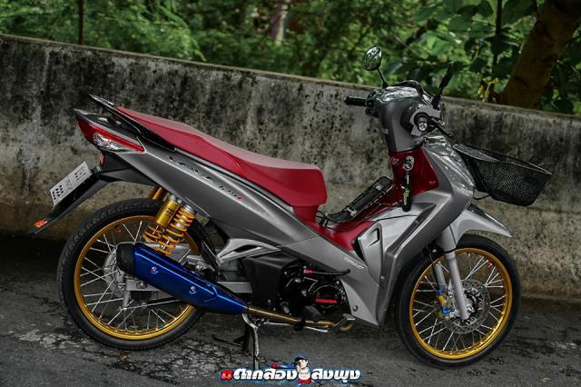 Wave 125 2019 ban do mang dap chat choi cua biker ThaiLand - 15
