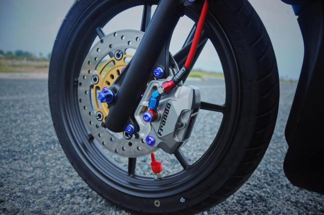 Click 125 do bien the moi voi doi chan quyen ru cua biker Soc Trang - 6