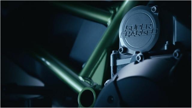 Z1000 supercharger với một loạt trang bị mới vừa được kawasaki hé lộ trong teaser thứ 2 - 7