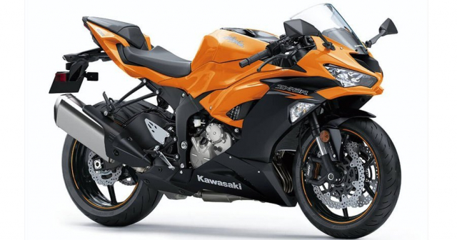 Kawasaki Ninja ZX6R 2020 tiep tuc lo dien phien ban mau moi tai Chau Au
