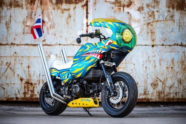 Monkey 125 do bien the moi doc nhat vo nhi tren dat Thai