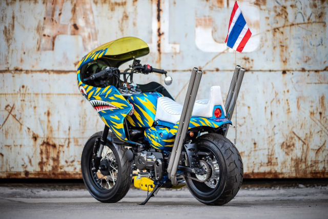 Monkey 125 do bien the moi doc nhat vo nhi tren dat Thai - 8