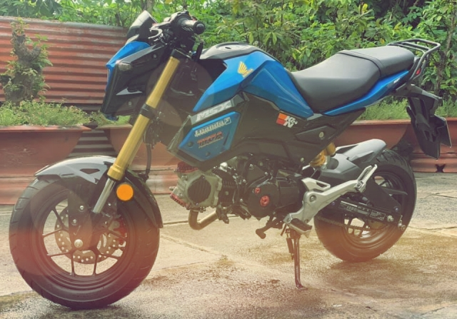 MSX 125 do cuc chat voi dau long 4 valve tai Ba RiaVung Tau