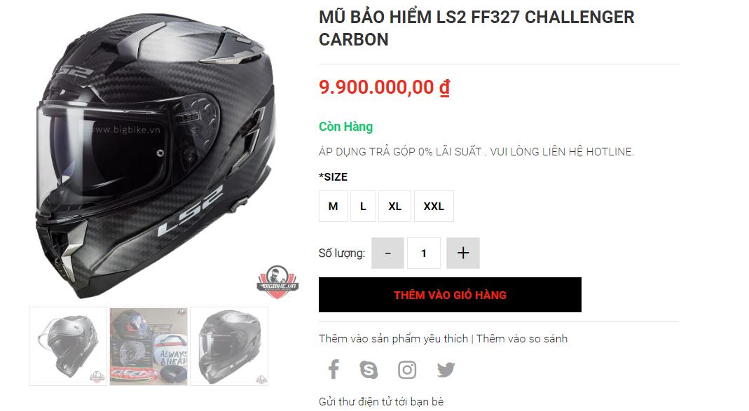 Shop bao ho mo to Bigbike diem den uy tin cua Biker tai trung tam Sai Gon - 7