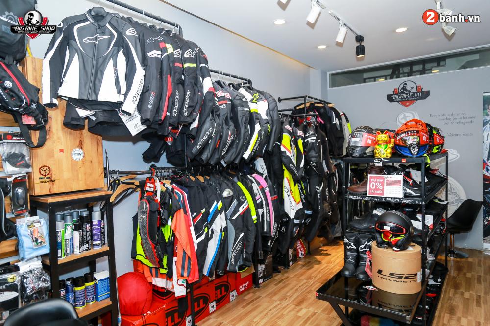 Shop bao ho mo to Bigbike diem den uy tin cua Biker tai trung tam Sai Gon - 20