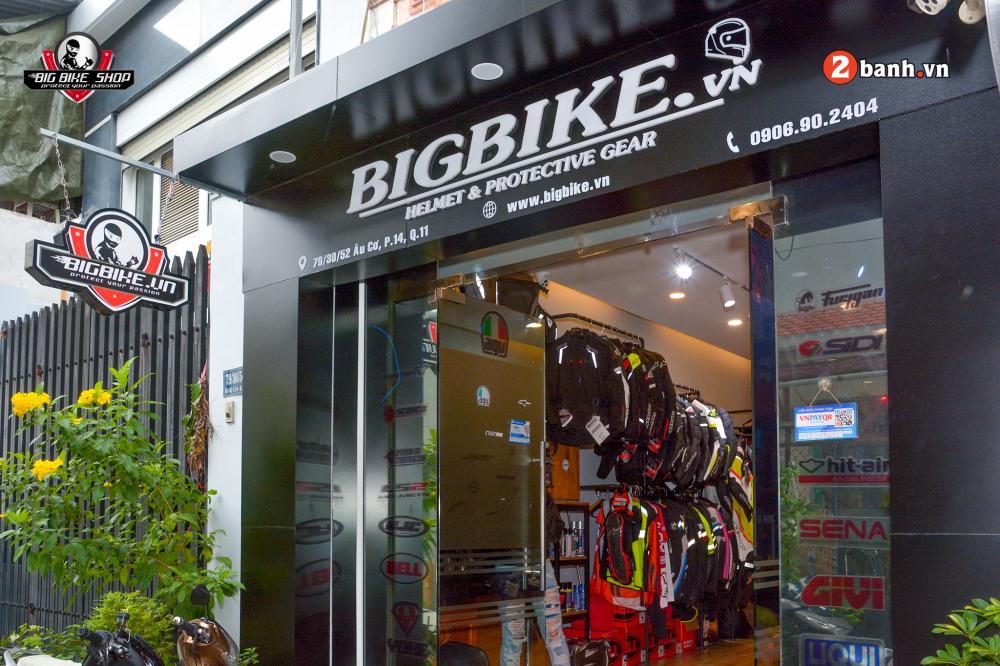 Shop bao ho mo to Bigbike diem den uy tin cua Biker tai trung tam Sai Gon - 6