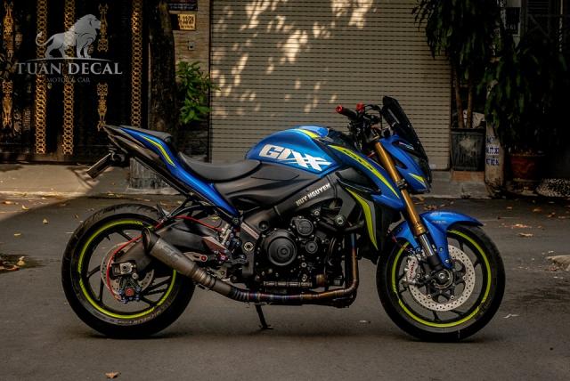 Suzuki GSXS1000 Gao xanh lanh lung ben dan do choi hang hieu - 7