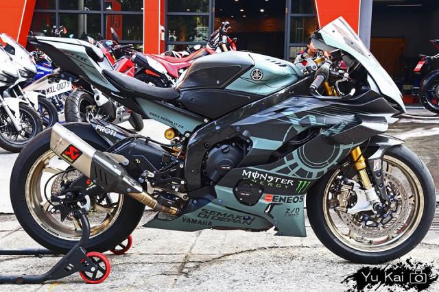 Yamaha R6 do sieu an tuong voi trang bi Winglets doc dao - 8