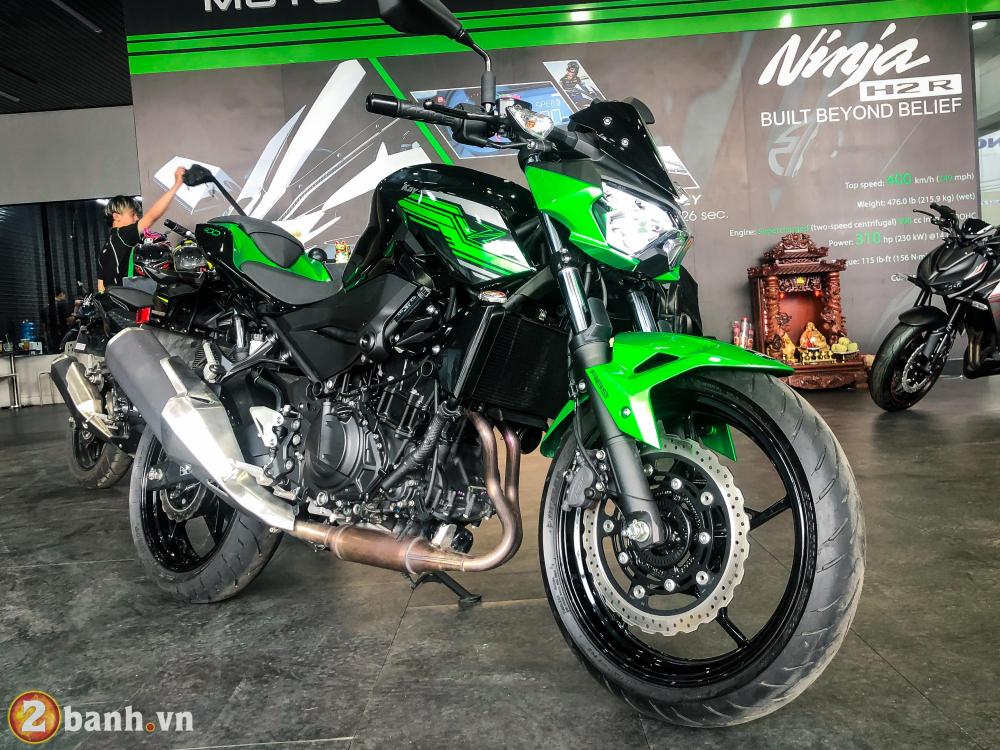 Can canh Kawasaki Z400 2020 tai Viet Nam va chuan bi ban ra vao cuoi thang 11 - 3
