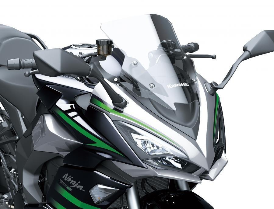 Kawasaki Ninja 1000SX 2020 bat ngo ra mat voi dien mao hoan toan moi