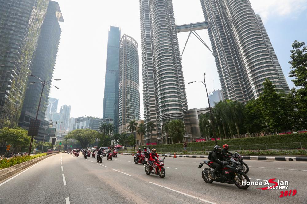 Thu thach hanh trinh hon 400km cung bo ba CBR500R CBR650R va CBR250RR tai Honda Asian Journey 2019 - 26