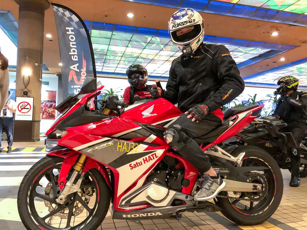 Thu thach hanh trinh hon 400km cung bo ba CBR500R CBR650R va CBR250RR tai Honda Asian Journey 2019 - 20