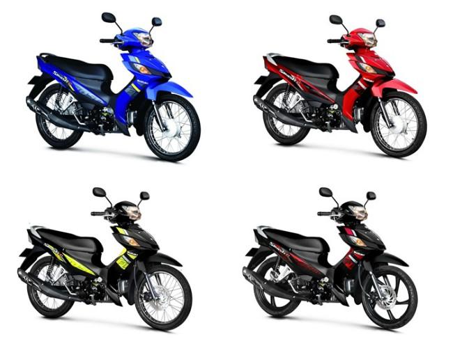 Suzuki Smash Fi 2020 lo dien voi thiet ke dam chat the thao - 8