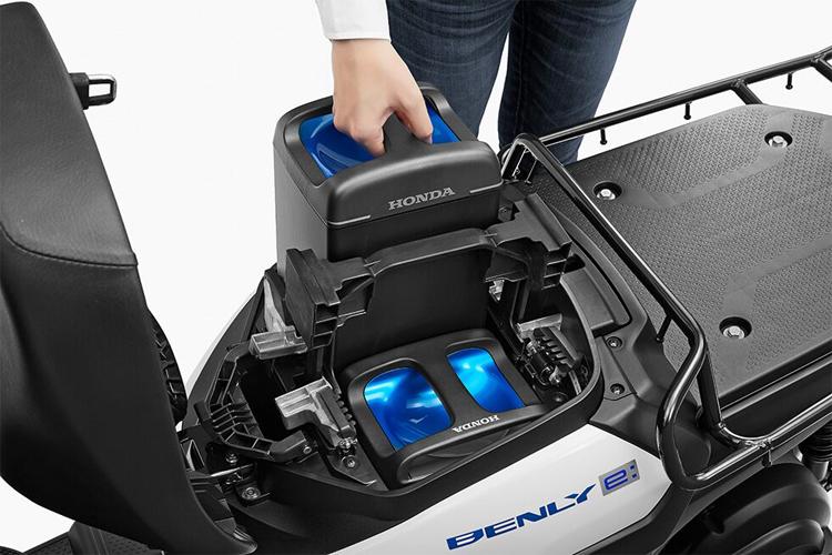 Xe may dien Honda Benly E se duoc ban vao nam 2020 - 5