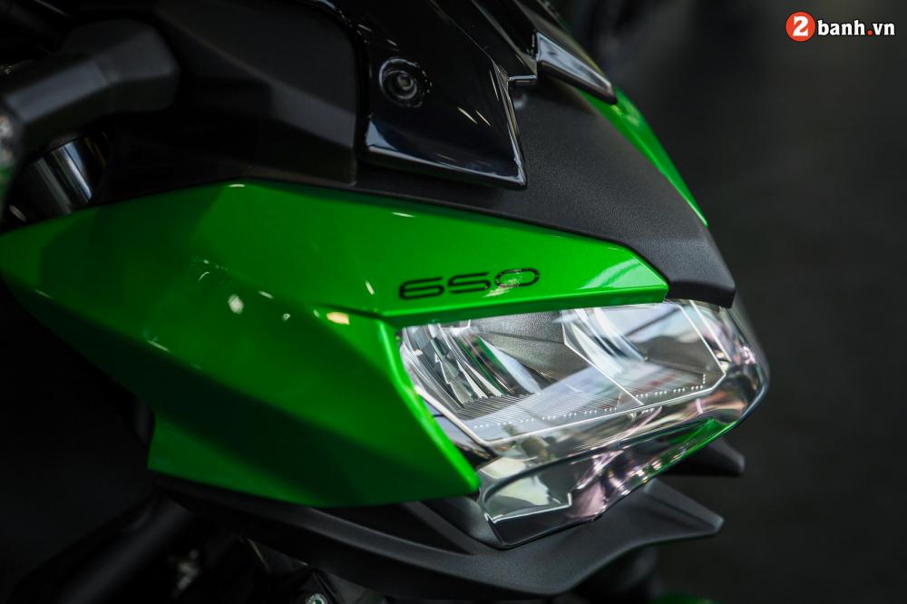 Can canh Kawasaki Z650 2020 ve Viet Nam voi gia ban de tho