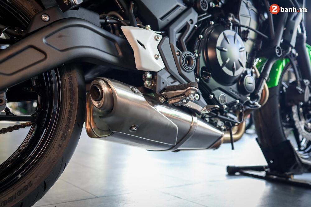 Can canh Kawasaki Z650 2020 ve Viet Nam voi gia ban de tho - 35