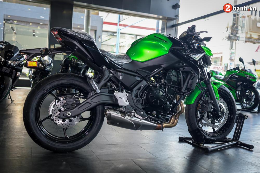 Can canh Kawasaki Z650 2020 ve Viet Nam voi gia ban de tho - 38