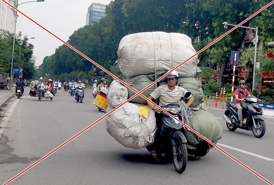 Nghi dinh 1002019 Chay xe may cho hang cong kenh phat bao nhieu tien