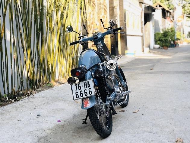 Super Cub doi 1968 rao ban 100 trieu dong co gi dac biet - 5