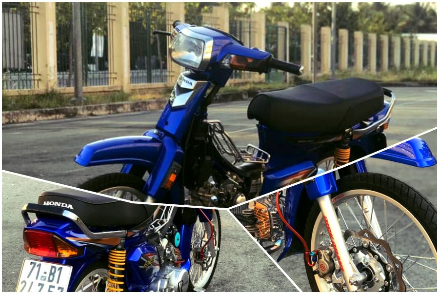 Honda Dream duoc tai sinh voi dan chan moi cuc ki xin xo