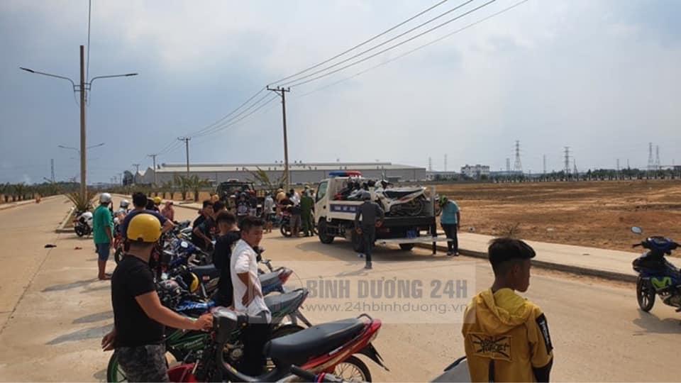Vay bat thanh cong gan 50 quai xe tu tap dua xe trai phep tai Binh Duong - 5