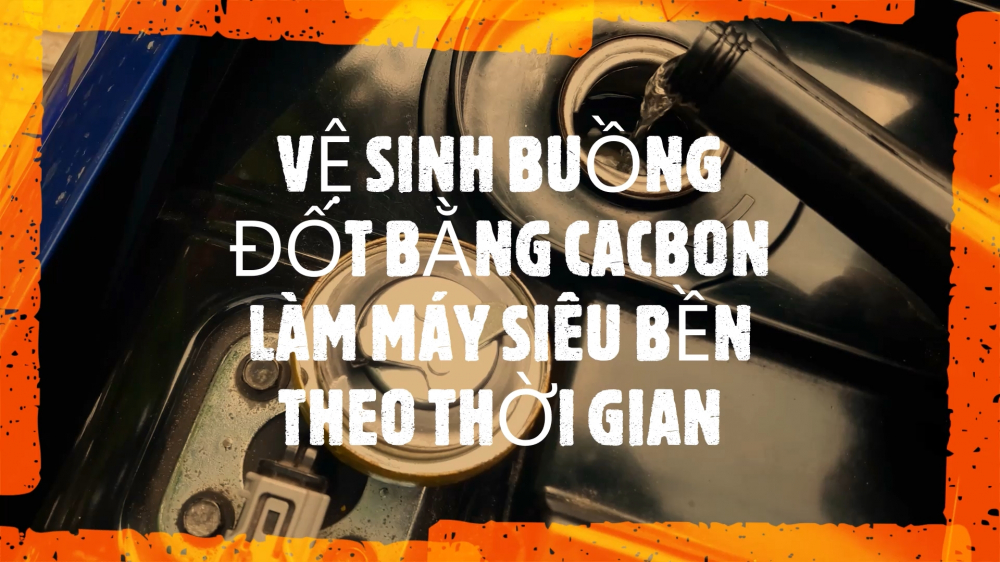 Dung 2M Vlog Yamaha Jupiter CACH LAM SACH BUONG DOT XE MAY JUPITER BANG CARBON CLEANER