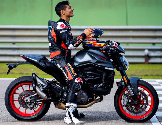 Ducati Monster 950 2021 trinh lang voi thiet ke moi va trong luong giam dang ke - 6