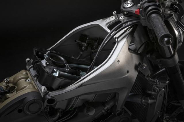 Ducati Monster 950 2021 trinh lang voi thiet ke moi va trong luong giam dang ke - 4