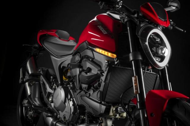 Ducati Monster 950 2021 trinh lang voi thiet ke moi va trong luong giam dang ke - 10