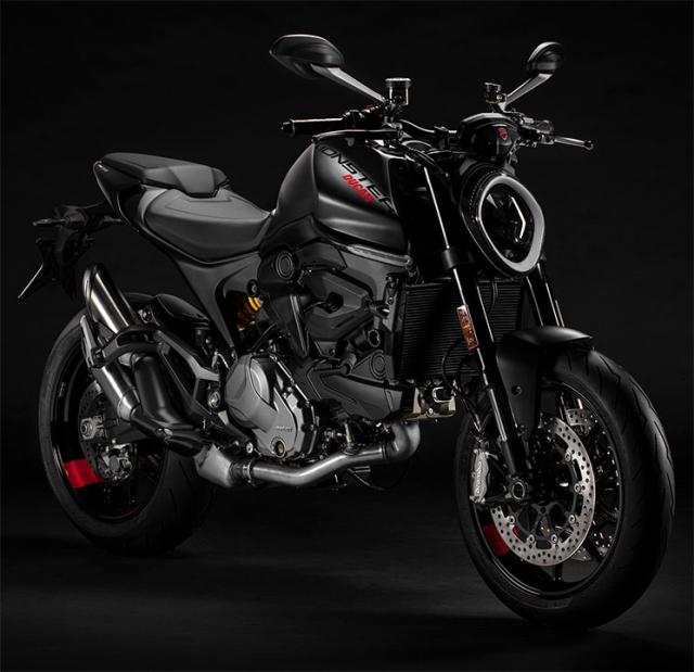 Ducati Monster 950 2021 trinh lang voi thiet ke moi va trong luong giam dang ke - 14