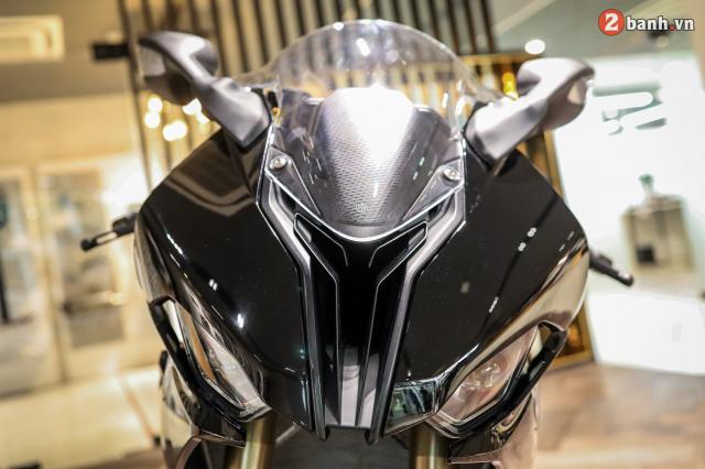 Chi tiet BMW S1000RR 2021 mau den Black Storm Metallic dau tien tai Viet Nam - 10