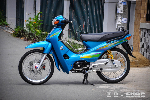 Honda Wave bat tu theo thoi gian voi dan chan KHUNG - 10